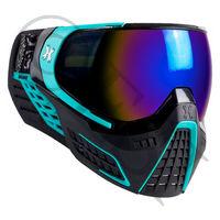 KLR Goggle System - Abyss - Cobalt Lens