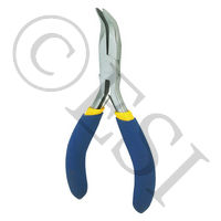 "4-3/4"" Bent Long Nose Plier"