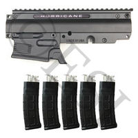 Huricane Magazine Fed Conversion Kit - Includes 5 Helix Magazines [Phenom]