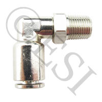 Macro Line Fitting - 90 Swivel - Nickel Plated