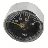 Micro Gauge 0-160psi - 1/8th Inch NPT Post Mount