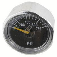 Micro Gauge 0-750psi - 1/8th Inch NPT Post Mount