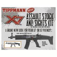 Assault Stock and Sights Kit for Tippmann X7 Phenom