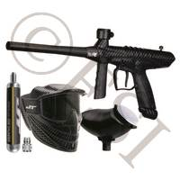 Gryphon Paintball Marker Value Pack with 90g Tank, Raptor Mask, and Hopper