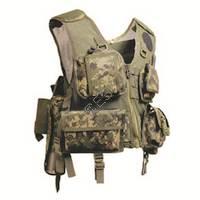 Assault Vest - Digital Camouflage
