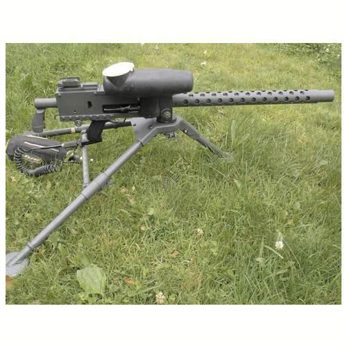 Engler 1919-A4 30 Cal Machine Gun - Phenom - Black