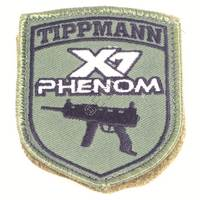X7 Phenom Patch with Velcro