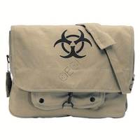 Paratrooper Shoulder Bag with Biohazard Logo