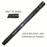 Big Shot Barrel with Apex Ready Tip - 12 Inches [Tippmann A5,X7,T68, Cronus]