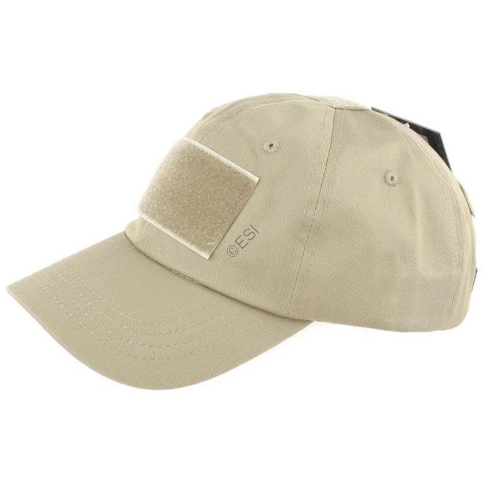 876f77284e2 Operator Tactical Cap with Hook and Loop Patch Mounts