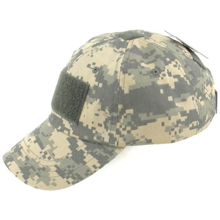 5158db66 Operator Tactical Cap with Hook and Loop Patch Mounts