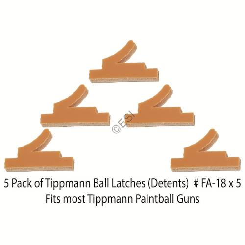 Ball Keeper Select Pack Qty 98, A5, X7 COCOMIA Tippmann Ball Detent Latch 6 Pack