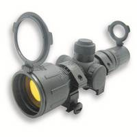 3-9x42 Compact Rubber Tactical Scope with Ring Mount