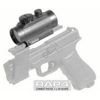 1x30 Red Dot Sight [20mm 7/8 Inch Weaver Rail Mount]