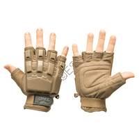 Half Finger Hard Back Gloves