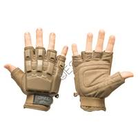 Half Finger Hard Back Gloves