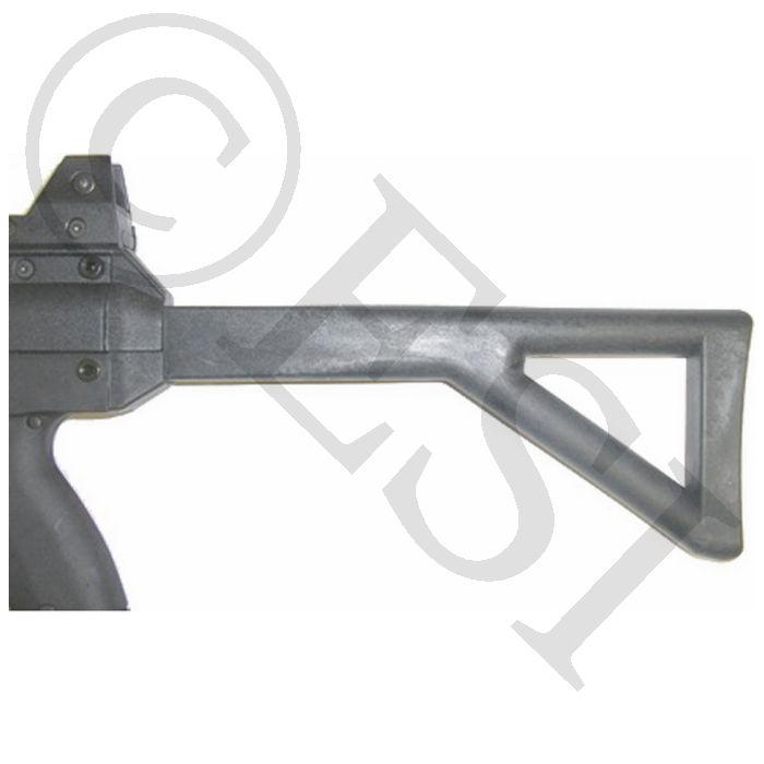 LAPCO MP5 PDW Fixed Stock [X7, Phenom] - Black