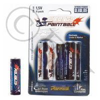 Alkaline Xtreme Power Battery - 6 Pack