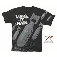 'Make It Rain' Bombs Tshirt