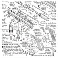 tippmann 98 custom platinum series e grip act gun parts diagram rh tippmannparts com tippmann 98 parts diagram tippmann 98 parts diagram