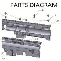 Tacamo Magazine Kit MK7 - X7 Gun Diagram