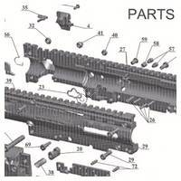 Tacamo Magazine Kit MKV-AB - Alpha Black Gun Diagram