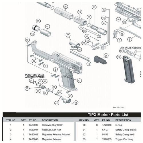 Magnificent Sku Tippmann Tipx Gun Diagram Basic Electronics Wiring Diagram Wiring Digital Resources Bemuashebarightsorg