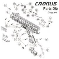 Tippmann Cronus 2 of 2 Gun Diagram