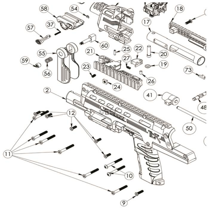 tippmann tcr diagram