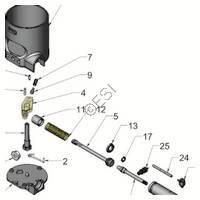 Tippmann X7 Phenom Gun Cyclone Feed System  V3 Diagram