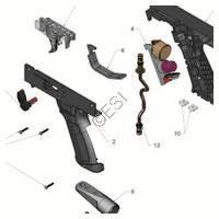 Tippmann X7 Phenom Gun Lower Receiver  V3 Diagram