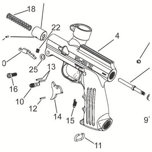 tippmann sl-68 ii gun