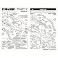 Tippmann Triumph XL Gun Diagram
