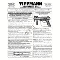 Tippmann A-5 Original E-Grip Manual