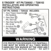 US Army Alpha Black Gun E-Grip Kit Installation Manual