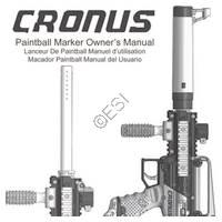 Tippmann Cronus Gun Manual