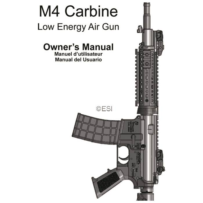 tippmann m4 carbine airsoft manual