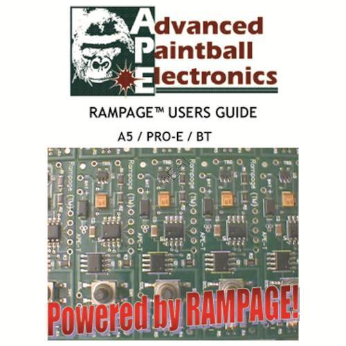 tippmann 98 custom pro e ape rampage board v2 manual rh tippmannparts com