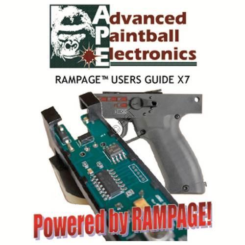 tippmann x7 ape rampage board manual rh tippmannparts com