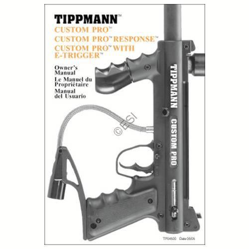 Tippmann 98 Custom Pro Gun Manual